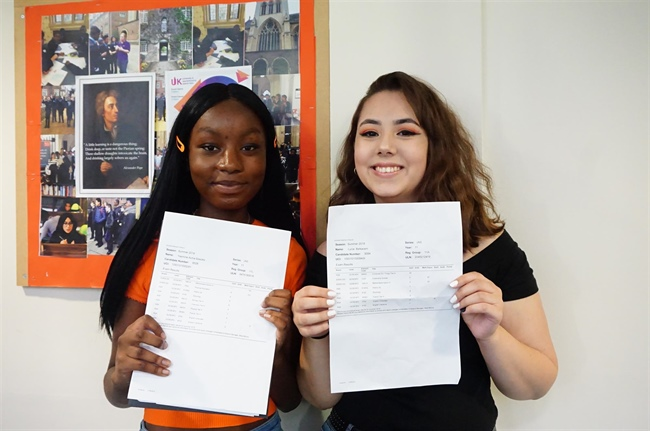 Strong Showing at GCSE for Lambeth Academy
