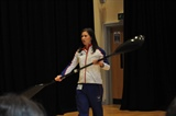 Olympian Anna Hemmings Visits the Academy
