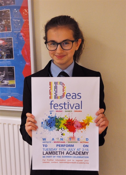 IDeas Festival Logo Winner