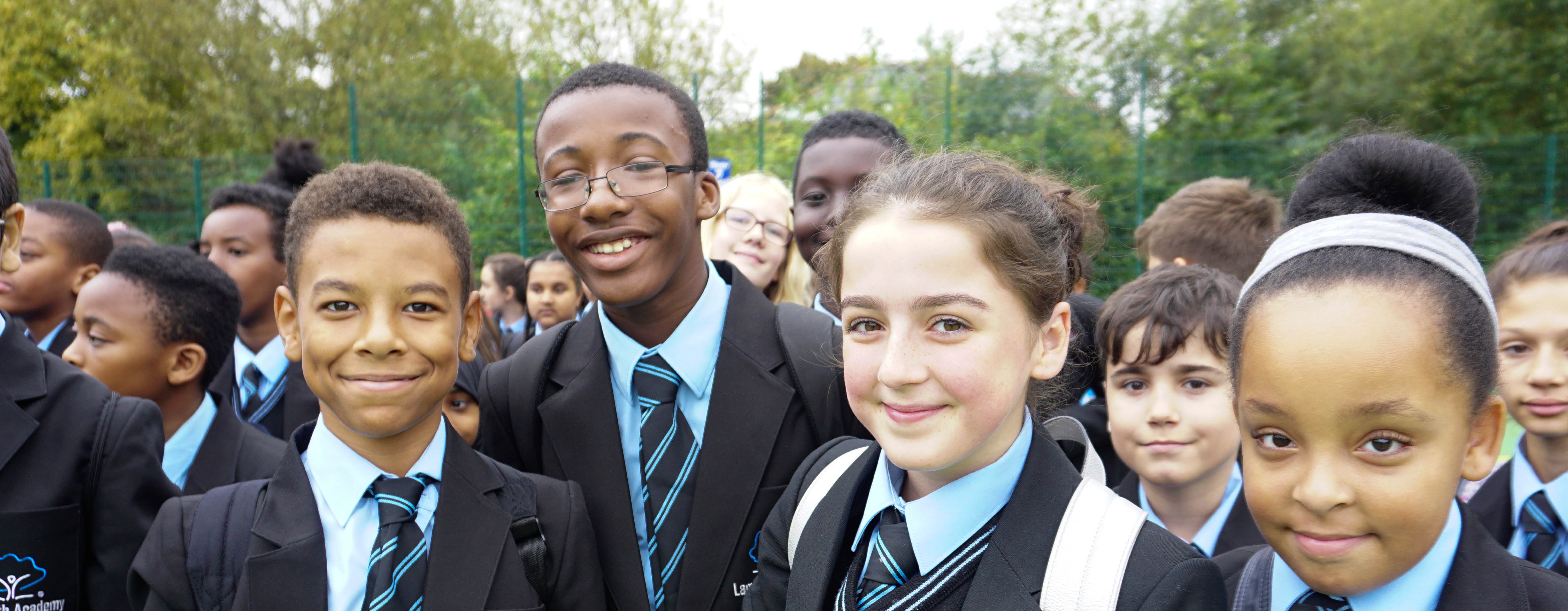 Lambeth Academy Students Celebration being GOOD in our Ofsted Inspection